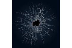 Broken glass illustration Product Image 1