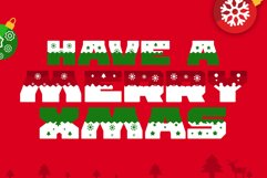 Ogra Clause Layered Christmas Font Product Image 4
