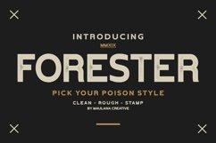 Forester Vintage Sans Serif Product Image 1