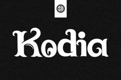 Kodia Font Product Image 1