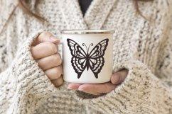 Butterfly SVG Bundle, butterflies svg, swirl svg, mandala Product Image 3