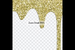 16 Seamless Glitter Dripping Melted Overlay Images 16 Colors Product Image 10