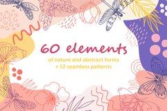 Organic natural seamless pattern set Product Image 1