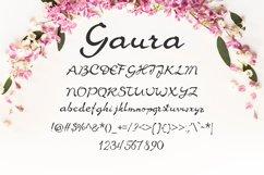 Gaura Font Product Image 2