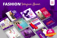 Fashion Instagram Banner Pack Product Image 1
