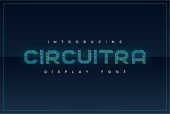 Circuitra - Color Font Product Image 1