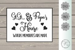 Gigi and Papa's House SVG PNG JPG DXF Product Image 1