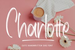 Charlotte - Cute Handwritten SVG Font Product Image 1
