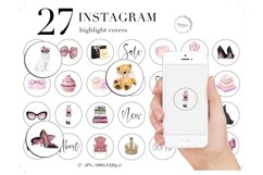 Fashion Instagram Story Highlights Icons Product Image 1