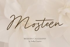 MOSTEEN - Romantic Font Product Image 1