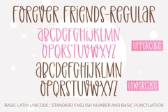 Forever Friend- A handwritten font duo Product Image 3