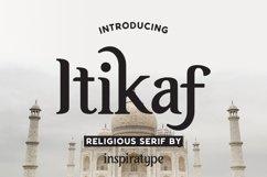 Itikaf - Religious Serif Font Product Image 1