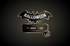 Halloween Design Golden Labels Set Product Image 4
