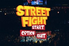 Web Font Fighting Font Product Image 2