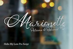 Hello My Love Calligraphy Script Font Product Image 3