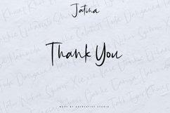 Jatina - Dynamic Signature Font Product Image 3