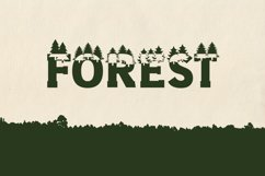 Forest Outdoors Font Product Image 1
