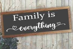 Family is everything SVG Product Image 1