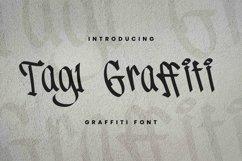 Tag1 Graffiti Font Product Image 1