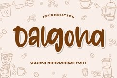 Dalgona - Quirky Font Product Image 1