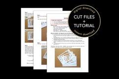 3D Layered Graduation Shadow Box svg, Light Box Template Product Image 5