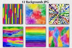12 Colorful Backgrounds Product Image 4