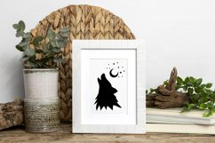 Forest Rustic Silhouettes clipart Product Image 3