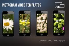 Instagram Video Templates. Nature flowers Product Image 2