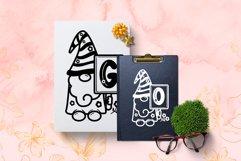 Spring Gnome Monogram Font Product Image 3