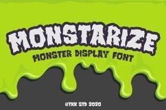 Monstarize - Horror Font Product Image 1