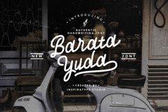 Baratayuda - Authentic Handwriting Font Product Image 1