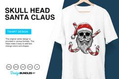 Skull Head Santa Claus Vector Illustration Product Image 3