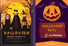 Halloween pumpkin Handwritten - cute kid font Kawaii style! Product Image 3