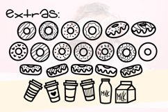 Donut Grow Up a Fun Font with extra Doodles Product Image 4