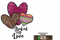 Baked with Love Valentine Kitchen Dye Sublimation Product Image 2