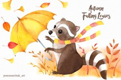 Autumn falling leaves Product Image 4