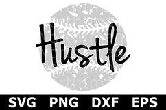 Hustle - A Sports SVG Cut File Product Image 2