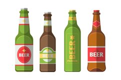 Beer Bottle Illustrations Product Image 1