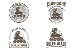 Collection of roller skates logo Product Image 1