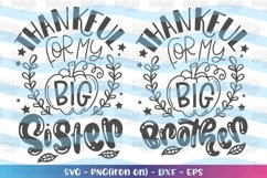 Fall Bundle SVG Thankful Cousins Big Brother Big Sister Product Image 2