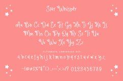 Web Font - Star Whisper Product Image 3