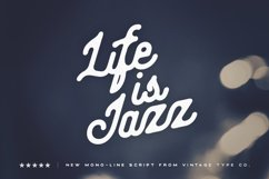 Life Is Jazz Script Product Image 1