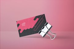 Digital Advertising Agency Business Card Product Image 3