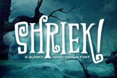 Shriek! Font Product Image 1