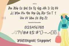 Magic Holiday - Monoline Cute Font Product Image 6