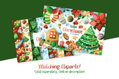 Christmas Digital Papers Product Image 3
