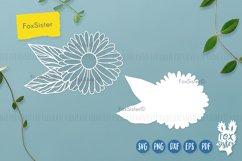 Flower svg, Flower Vector Cut File, Floral svg, Daisy svg Product Image 2