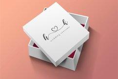 dear love | a romantic script font Product Image 3