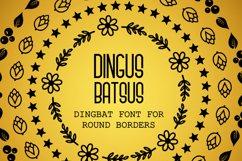 Dingus Batsus, a dingbat font for making borders Product Image 6