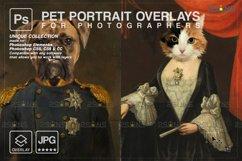 Royal Pet Portrait templates vol.20, Digital pet art Product Image 1